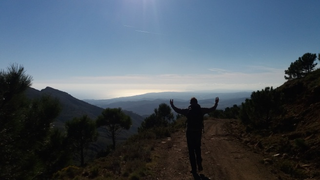 The Vulture Restaurant, hiking on the Costa del Sol in Andalucia