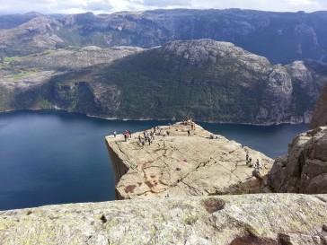 Wild camping Norway, The Preikestolen