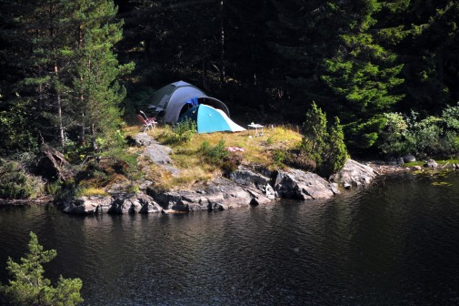 Our unique camping spot Norway