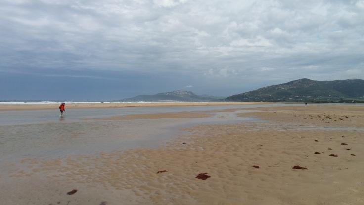 Tarifa beach walk