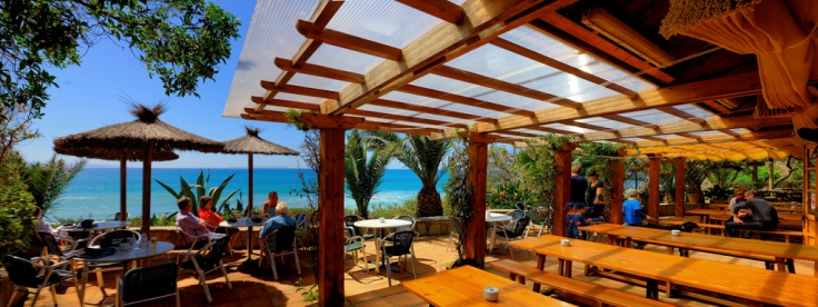 The wide beaches of Tarifa, Hurricane Hotel Tarifa